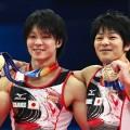 内村航平が世界体操で個人三連覇